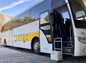 Krepšininkus vežantiems autobusams – aukščiausi higienos standartai (video)