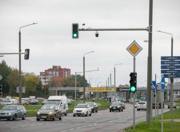 Ateities, Žirmūnų ir S. Batoro g. sankryžose Vilniuje – naujienos saugumo didinimui