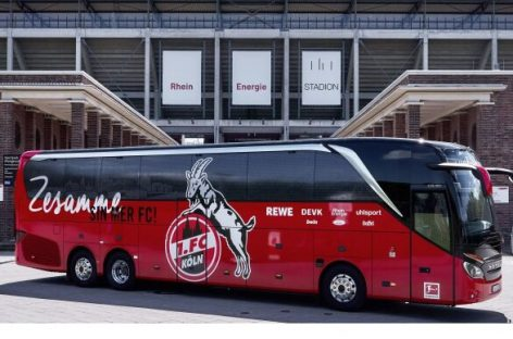 "Kelno futbolo komandai – unikalus ""Setra"" autobusas"