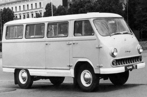 RAF: pirmojo sovietinio mikroautobuso istorija