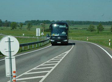 Leidimų vežti keleivius reguliaraus susisiekimo maršrutais taisyklėse – galimybė stabdyti autobusų eismą