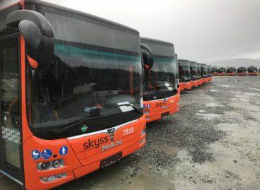 125 biodujomis varomi MAN – Norvegijos miestui Bergenui