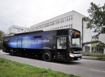 "Priemiestiniame ""Setra"" autobuse – mobili COVID-19 testavimo laboratorija"