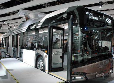 """""""Solaris Bus and Coach"""" šiais metais pardavė daugiausia elektrinių autobusų"""
