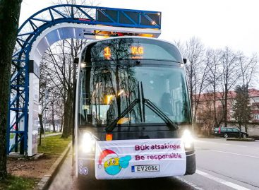 DANCER autobusai ragina būti atsakingais