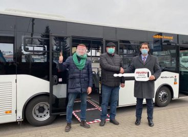 Naujas autobusas – dar viename autobusų parke