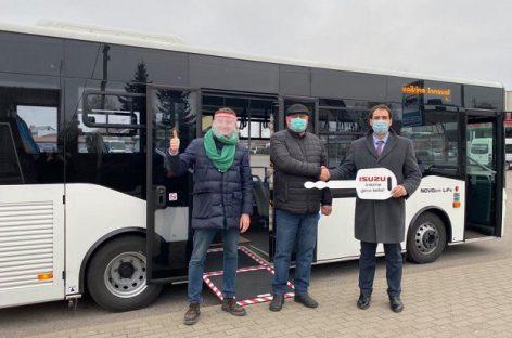 Jonavoje keleivius veš du nauji autobusai