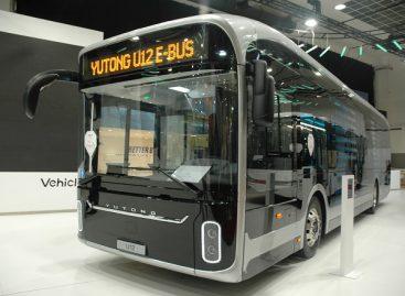"""""""Kautra"""" testuoja elektrinį autobusą Alytuje"""