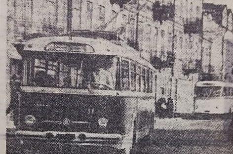 Kauno troleibusams – 55: keletas istorinių faktų
