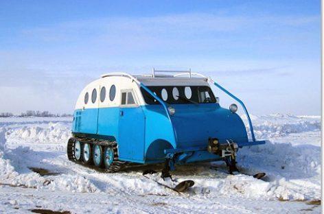 Žiemos kelionėms – sniegobusai