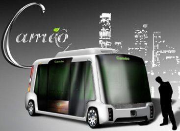 """""""Cameo"""" mikroautobusas – už švarią aplinką"""