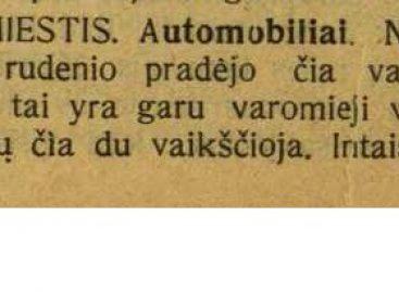 """1912-aisiais Suvalkų gubernijoje – kelionės """"garo vežimais"""""""