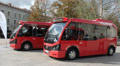 Vilniuje – devyni nauji viešojo transporto maršrutai, daugiau kaip 20 ekologiškų autobusų