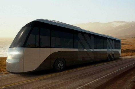 """""""Neuron EV"""" į ateitį žengia su nauju elektriniu autobusu"""