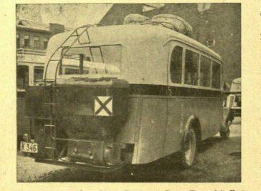 Apie alternatyvius degalus autobusams kalbėta ir tarpukariu