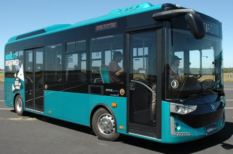 Tauragėje – Lietuvoje dar nematyti elektriniai autobusai