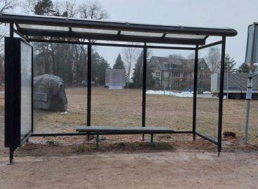 Alytuje statomos naujo dizaino autobusų stotelės