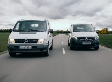 """Mercedes-Benz Vito"" švenčia 25-erių metų jubiliejų"