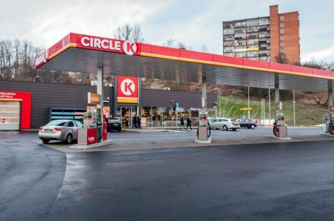 """""""Circle K"""" į naują didelio formato degalinę Vilniuje investavo 3,6 mln. eurų"""