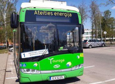 Nuo balandžio 15 d. atnaujinami Tauragės autobusų parko maršrutai