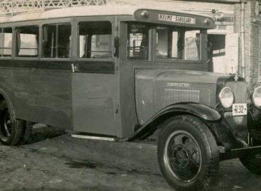Autobusų susisiekimo istorija Šiaulių krašte iki 1940 m. birželio