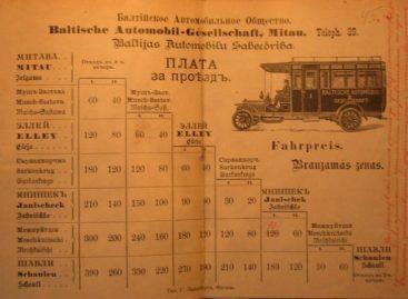 Susiekimo istorija Šiaulių apskrityje tarpukariu iki 1940 metų
