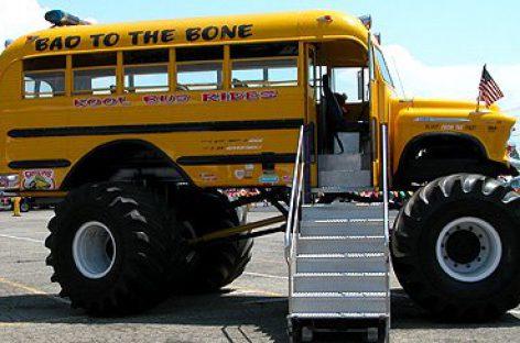 Padidinto pravažumo autobusai