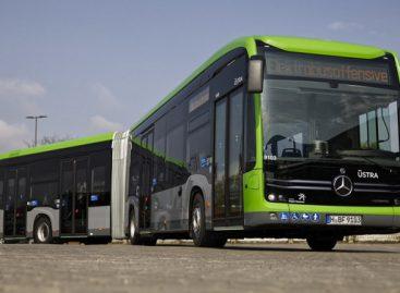 """Hanoveryje – sudvejinti elektriniai """"Mercedes-Benz Citaro"""""""