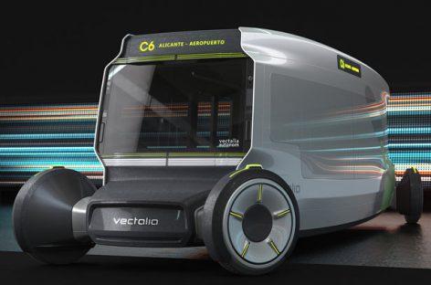 """""""Vestalia STREAT"""" – miesto autobuso konceptas"""