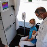 Setra Impfbus nimmt Fahrt aufSetra vaccination bus in operation