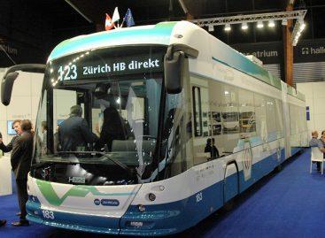 Šveicarijoje toliau plečiamas troleibusų tinklas