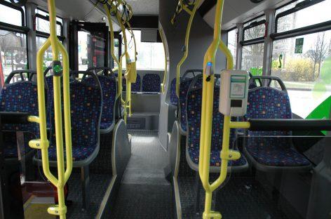 SAM: pažeidimų viešajame transporte fiksuota daugiau