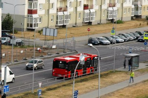 Liepkalnio g.–Žirnių g.–Minsko pl. sankryžoje Vilniuje – viešojo transporto judėjimo pakeitimai