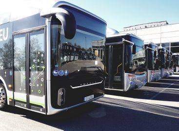 Marijampolės mieste išbandomas elektrinis autobusas