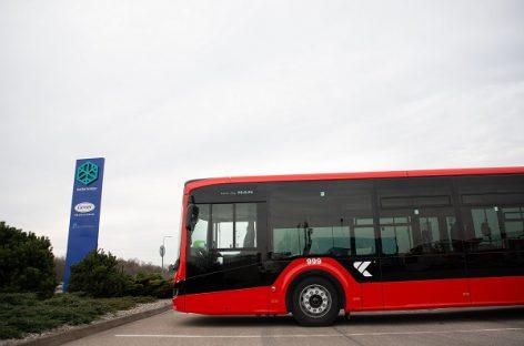 Naujovė Kauno autobusuose – priemonė kovai su virusais