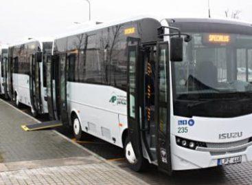 Nuo birželio 1-osios – Naujosios Akmenės autobusų parko maršrutai į Palangą