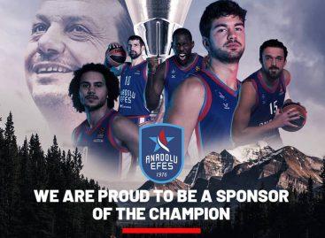 """Anadolu korporacijos investicijos remiant  """"Anadolu Efes"""" krepšinio klubą nenuėjo veltui"""