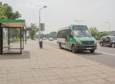 Alytuje – naujos viešojo transporto stotelės