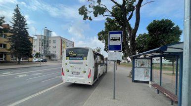 Tauragėje bus įrengta 20 realaus laiko informacijos švieslenčių autobusų stotelėse