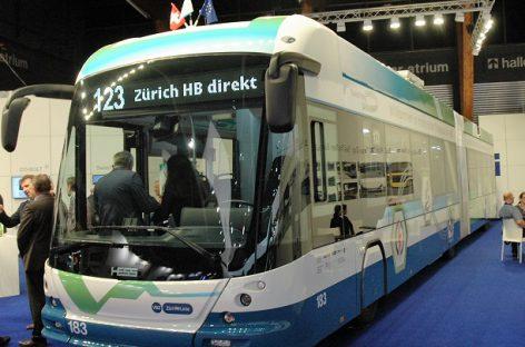 """""""Siemens Infrastructure"""" pristatys įkrovimo sistemą 45 elektriniams autobusams Ciuriche"""
