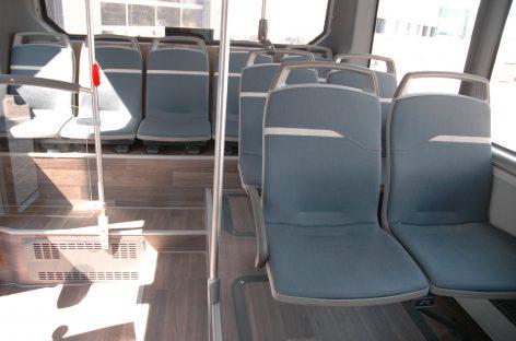 Tikrinta, kaip laikomasi apribojimų viešajame transporte
