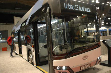Pirmajame Lenkijos mieste – vandenilinis autobusas