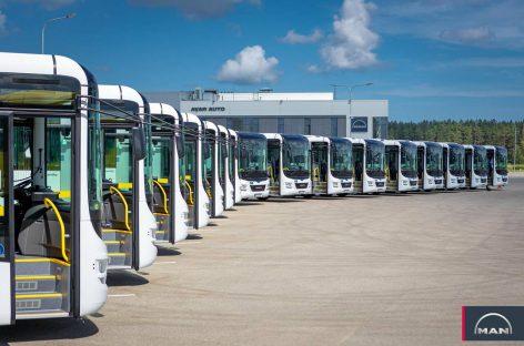 Daugpilio vežėjai įsigijo modernių autobusų