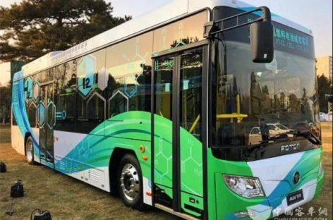 Iki  2022 m. Pekino žiemos olimpinių žaidynių – daugiau vandenilinių autobusų