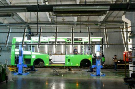 "ZAZ gamins autobusus su ""Mercedes-Benz"" agregatais"