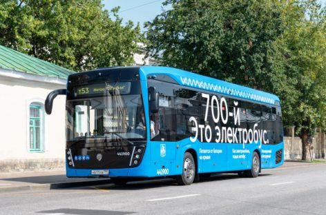 Maskvoje – jau 700 elektrinių autobusų