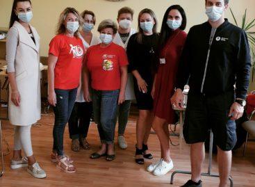 """""""Busturo"""" darbuotojai dalyvavo donorystės akcijoje"""