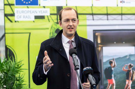 Baltijos šalių sostines sujungė specialiojo Europos geležinkelių metus žyminčio traukinio maršrutas