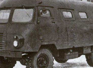 """Sovietinis """"branduolinis"""" autobusas"""