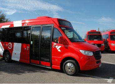 Kauno autobusų eismas 2021 m. spalio 23, 24, 30, 31, lapkričio 1, 2 dienomis